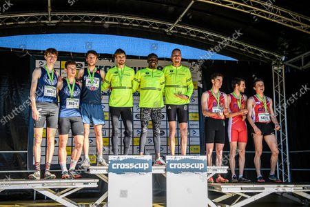 Editorial image of Athletics Crosscup Relays Berlare Race, Berlare, Belgium - 24 Oct 2021