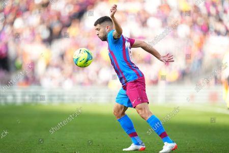 Stock Photo of Jordi Alba of FC Barcelona