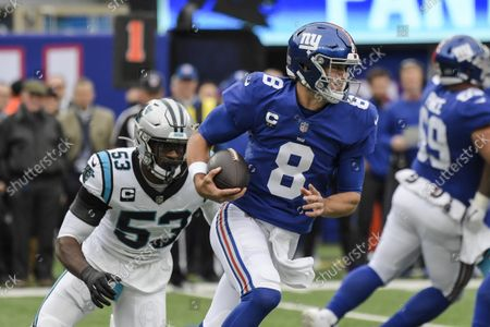 Editorial photo of Panthers Giants Football, East Rutherford, United States - 24 Oct 2021