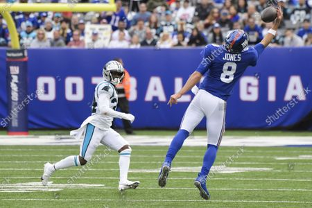 Editorial image of Panthers Giants Football, East Rutherford, United States - 24 Oct 2021