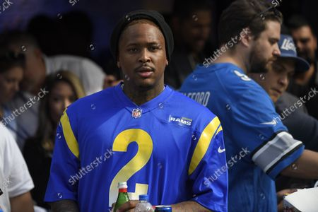 Editorial picture of Lions Rams Football, Inglewood, United States - 24 Oct 2021