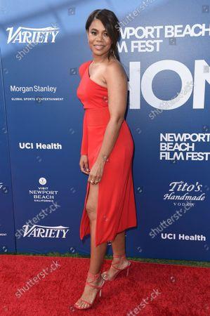 Regina Hall arrives at the Newport Beach Film Festival 2021 Festival Honors, at Balboa Bay Resort in Newport Beach, Calif