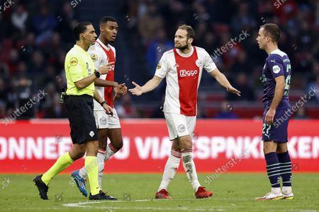 Editorial image of Ajax Amsterdam v PSV Eindhoven, Dutch Eredivisie, Amsterdam, Netherlands - 24 Oct 2021