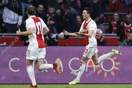 Editorial picture of Ajax Amsterdam v PSV Eindhoven, Dutch Eredivisie, Amsterdam, Netherlands - 24 Oct 2021