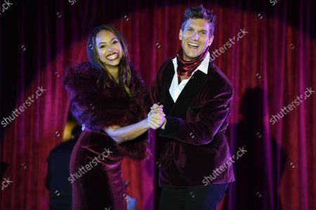 Amber Stevens West and Scott Michael Foster