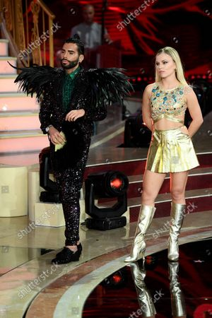 Federico Fashion Style and Anastasia Kuzmina