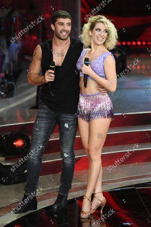 Andrea Iannone and Lucrezia Lando
