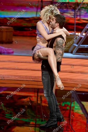 Editorial photo of 'Dancing with the Stars' TV Transmission, Series, 30, Episode 2, Rome, Italy - 23 Oct 2021