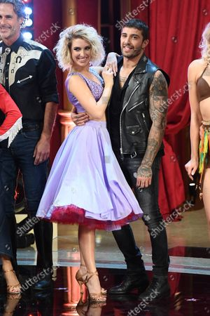 Editorial image of 'Dancing with the Stars' TV Transmission, Series, 30, Episode 2, Rome, Italy - 23 Oct 2021