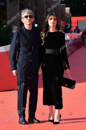 The director Sergio Rubini with wife Carla Cavalluzzi