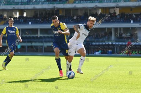 Editorial picture of Italian football Serie A match Hellas Verona FC vs SS Lazio, Verona, Italy - 24 Oct 2021