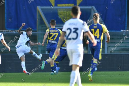 Editorial image of Italian football Serie A match Hellas Verona FC vs SS Lazio, Verona, Italy - 24 Oct 2021
