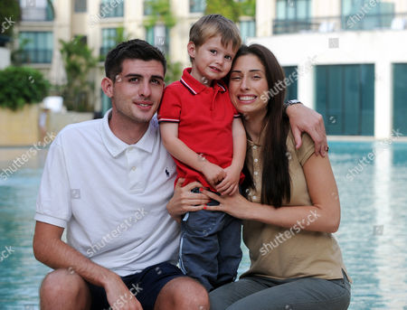 Winner, Queen of the Jungle Stacey Solomon with Son Zach  and boyfriend Aaron Barham