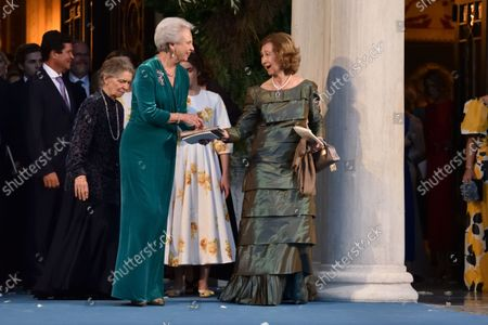 Editorial photo of Royal Wedding Of Prince Philippos Of Greece With Nina Flohr In Athens - 23 Oct 2021