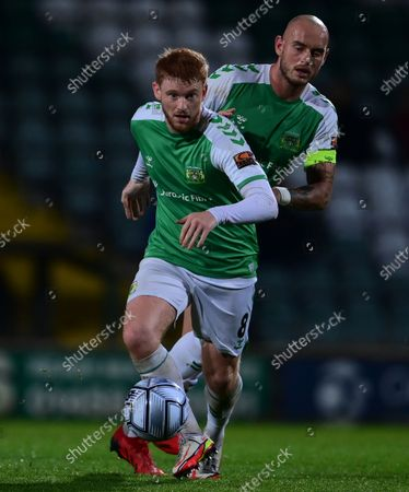 Dale Gorman of Yeovil Town on the break during the National League Match between Yeovil Town and Woking at Huish Park on 26 Oct, 2021 in Yeovil, England (Photo by Mat Mingo/PPAUK)