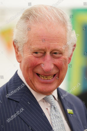 Prince Charles, Patron of Samaritans, during a visit to the Gloucester and District Branch of Samaritans in Gloucester, to celebrate their 50th Anniversary and hear about the recent work of the charity.