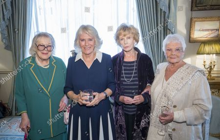 Editorial photo of The Duchess of Cornwall's Reading Room reception, London, UK - 26 Oct 2021