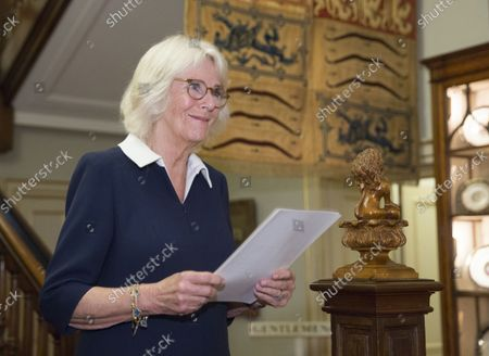 Editorial picture of The Duchess of Cornwall's Reading Room reception, London, UK - 26 Oct 2021