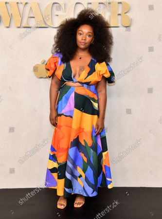 Editorial photo of Apple's 'Swagger' TV show premiere, Arrivals, New York, USA - 26 Oct 2021