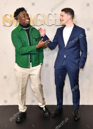 Ozie Nzeribe and Jmaes Bingham