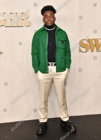 Editorial picture of Apple's 'Swagger' TV show premiere, Arrivals, New York, USA - 26 Oct 2021