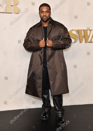 Editorial image of Apple's 'Swagger' TV show premiere, Arrivals, New York, USA - 26 Oct 2021
