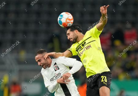 Editorial picture of Soccer Cup, Dortmund, Germany - 26 Oct 2021