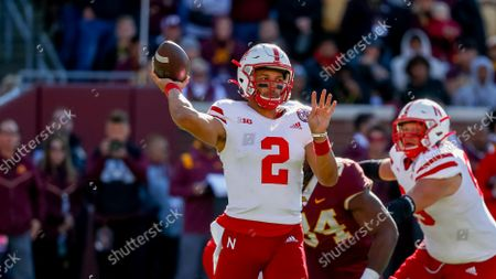 Editorial picture of Nebraska Minnesota Football, Minneapolis, United States - 16 Oct 2021