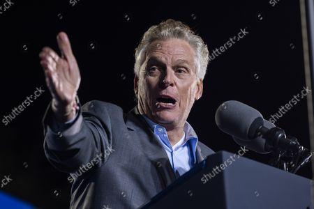 Editorial picture of President Biden campaigns for Terry McAuliffe in Virginia, Arlington, Virginia, USA - 26 Oct 2021