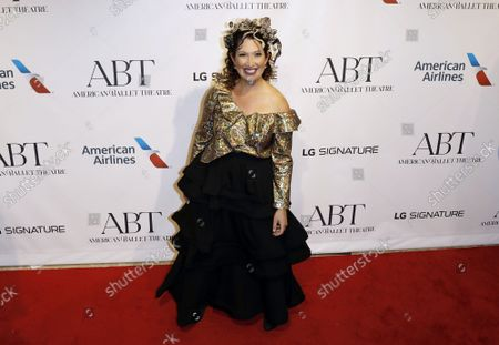 Businesswoman Randi Zuckerberg arrives on the red carpet at American Ballet Theatreâ€s Fall Gala at the David H. Koch Theater on Tuesday, October 26, 2021 in New York City.       .