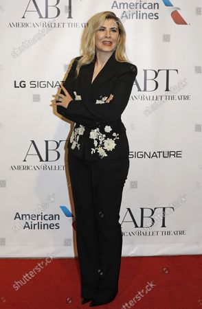 Editor in Chief of Independent Persia, Camelia Entekhabifard arrives on the red carpet at American Ballet Theatre's Fall Gala at the David H. Koch Theater on Tuesday, October 26, 2021 in New York City.       .