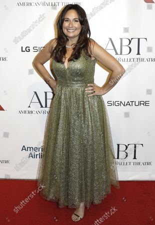 Theatre producer Jenna Segal arrives on the red carpet at American Ballet Theatre's Fall Gala at the David H. Koch Theater on Tuesday, October 26, 2021 in New York City.       .