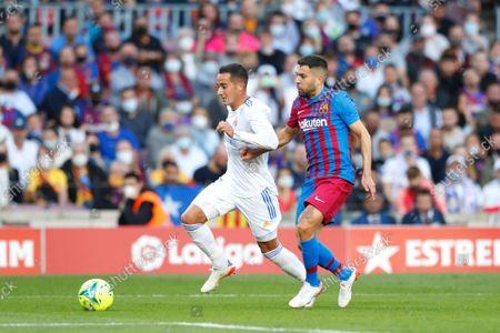Editorial photo of Soccer : 2021-2022 La Liga Santander : FC Barcelona 1-2 Real Madrid CF, Barcelona, Spain - 24 Oct 2021