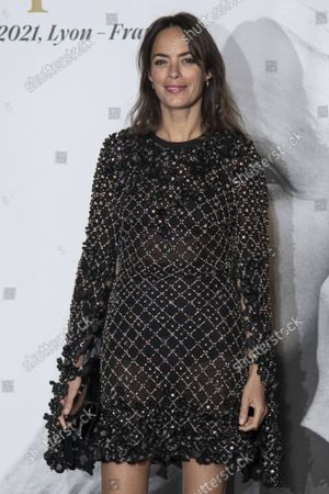 Berenice Bejo and attend sthe Lumiere Award Ceremony during the 13th Film Festival Lumiere In Lyon on October 15, 2021 in Lyon, France.