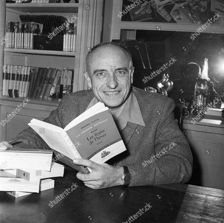 Editorial photo of Bernard Clavel, Paris, France - 10 Nov 1968