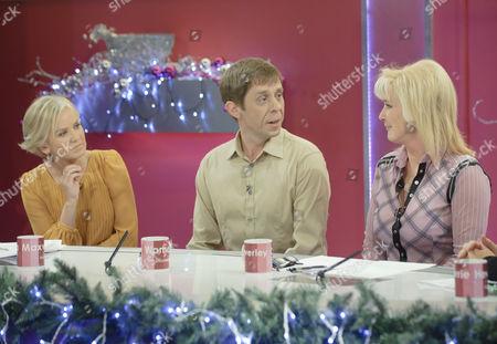 Lisa Maxwell, Nick Cochrane and Beverley Callard