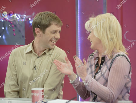 Stock Picture of Nick Cochrane and Beverley Callard