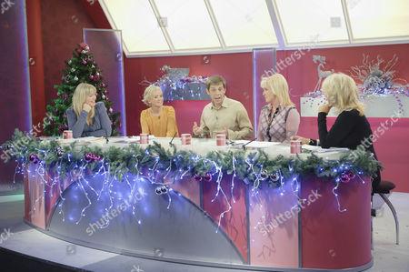 Stock Photo of Kate Thornton, Lisa Maxwell, Nick Cochrane, Beverley Callard and Sherrie Hewson