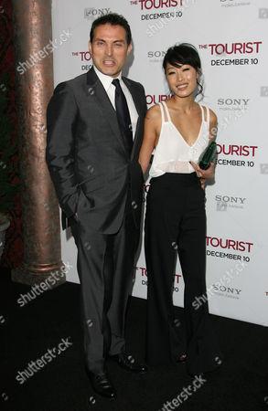 Rufus Sewell and Ami Komai