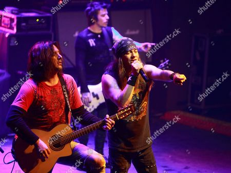 Editorial photo of Skid Row in concert, Russia, Moscow - 04 Dec 2010