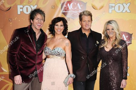 Joe Don Rooney with Wife Tiffany Fallon with Gary Le Vox and wife