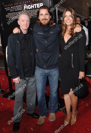 Christian Bale, wife Sibi Blazic & Dicky Eklund