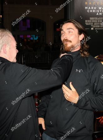Christian Bale and Dicky Eklund