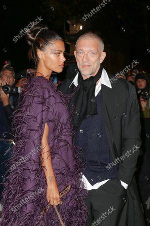 Stock Image of Vincent Cassel and Tina Kunakey di Vita