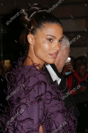 Editorial photo of Valentino, Outside Arrivals, Paris Fashion Week, Paris, France - 02 Oct 2021