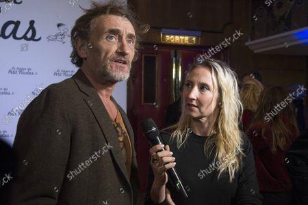 Editorial photo of 'The Treasure of Little Nicolas' film premiere, Paris, France - 03 Oct 2021