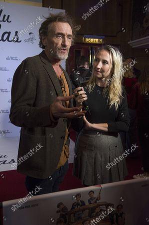Editorial picture of 'The Treasure of Little Nicolas' film premiere, Paris, France - 03 Oct 2021