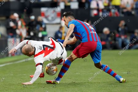 Editorial picture of Rayo Vallecano vs FC Barcelona, Madrid, Spain - 27 Oct 2021