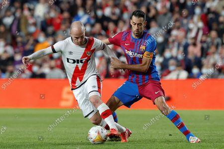 Editorial photo of Rayo Vallecano vs FC Barcelona, Madrid, Spain - 27 Oct 2021