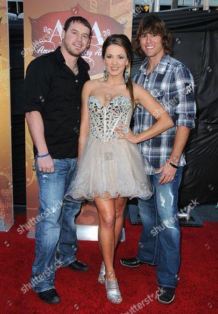 Lane Elenburg, Shea Fisher and Haden Moss